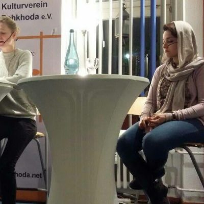 Reading in Dehkhoda Kulturverein Berlin 2017